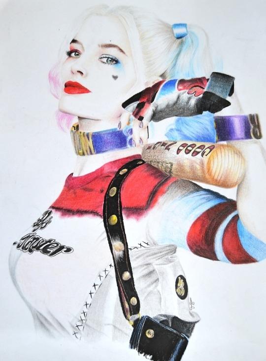Margot Robbie by AnaPisichiuta